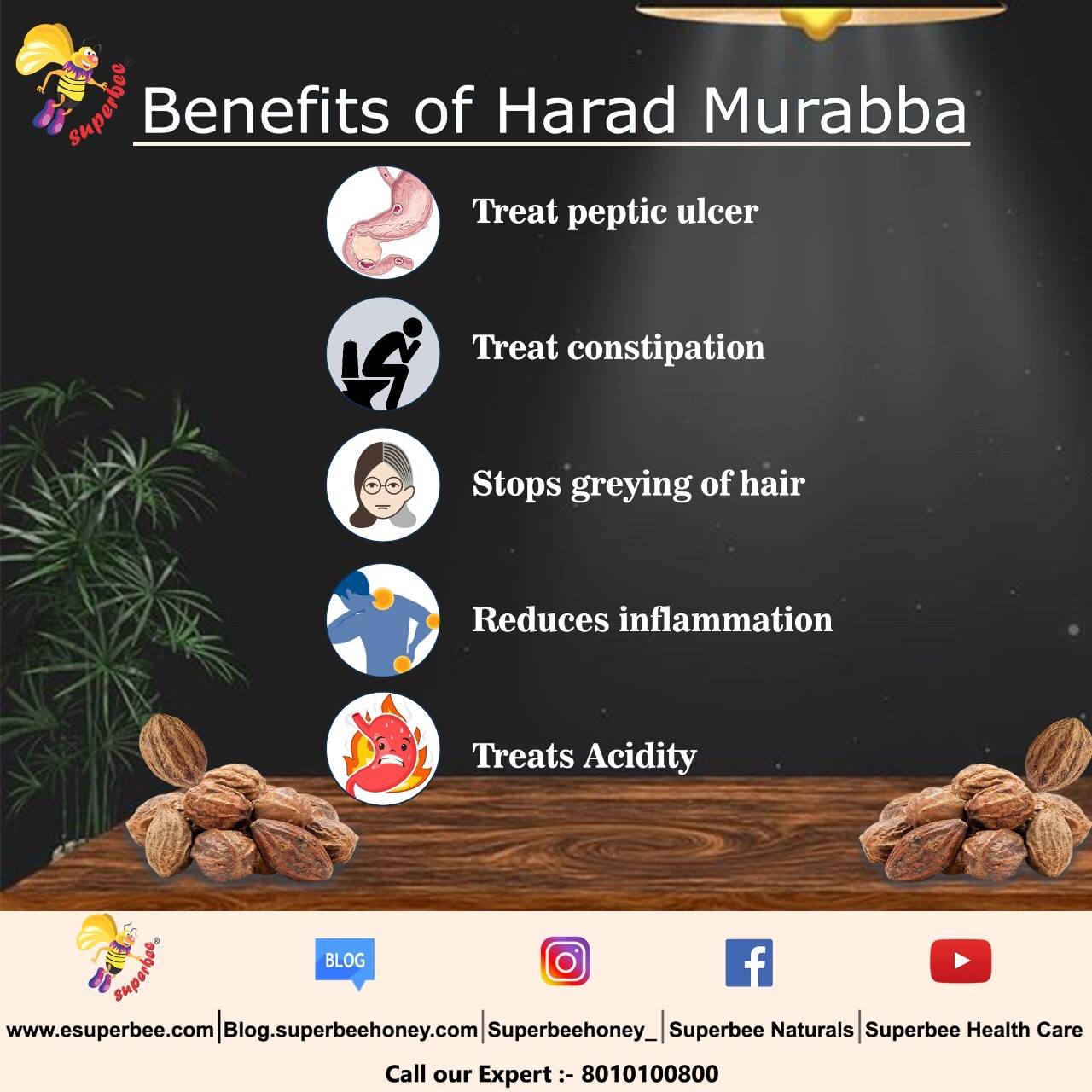 Benefits of Harad Murabba